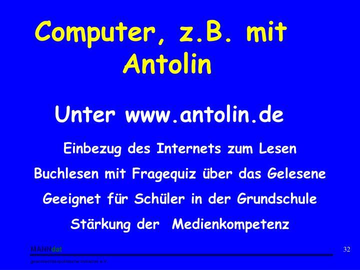 Computer, z.B. mit