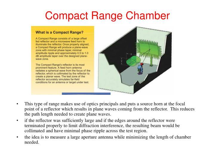 Compact Range Chamber