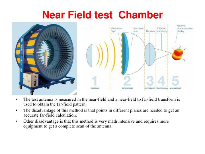 Near Field test  Chamber