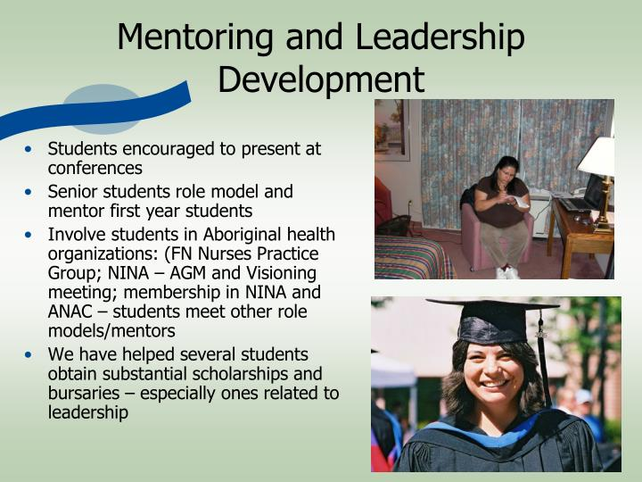 Mentoring and Leadership Development