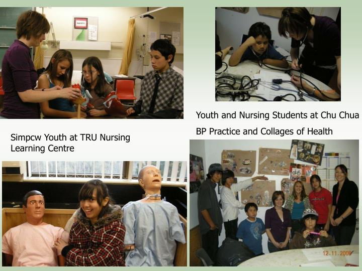 Youth and Nursing Students at Chu Chua