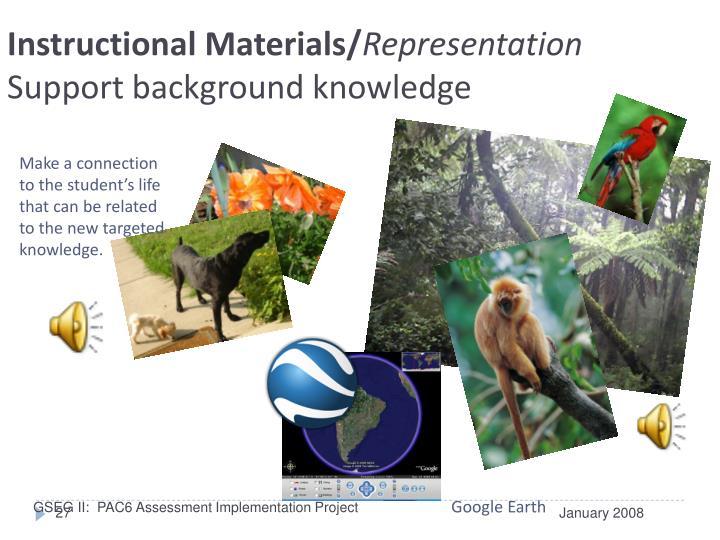 Instructional Materials/