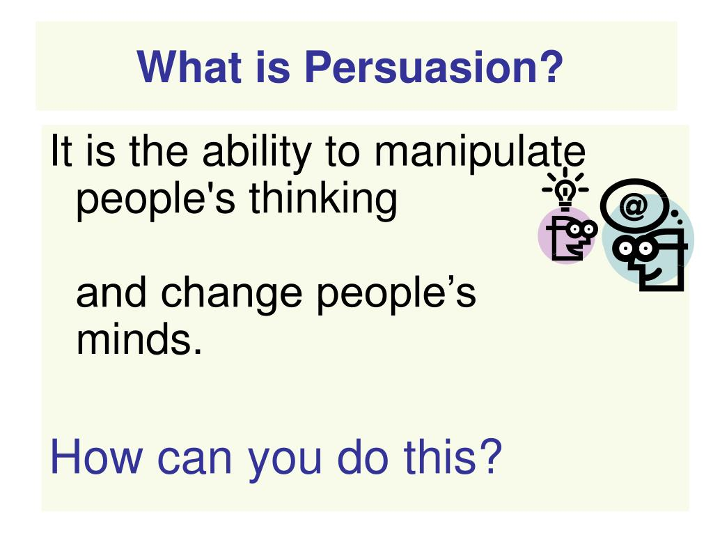 PPT - The Power of Persuasive Writing PowerPoint Presentation - ID