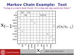 markov chain example text
