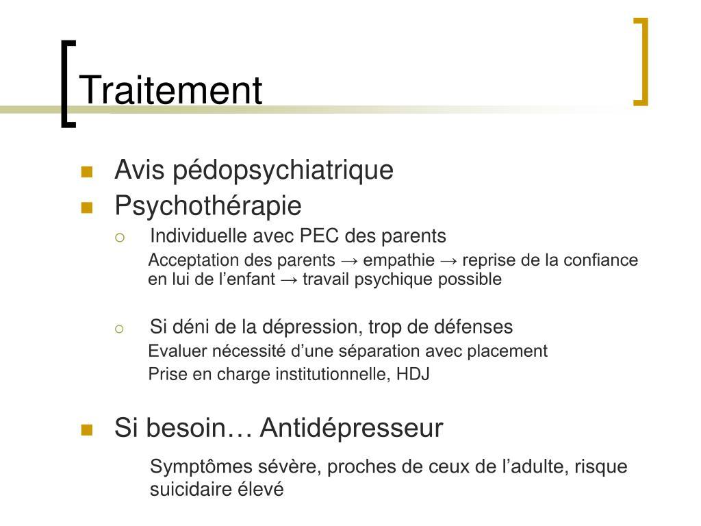 PPT - Dépression de l'enfant, de l'adolescent Suicide et..