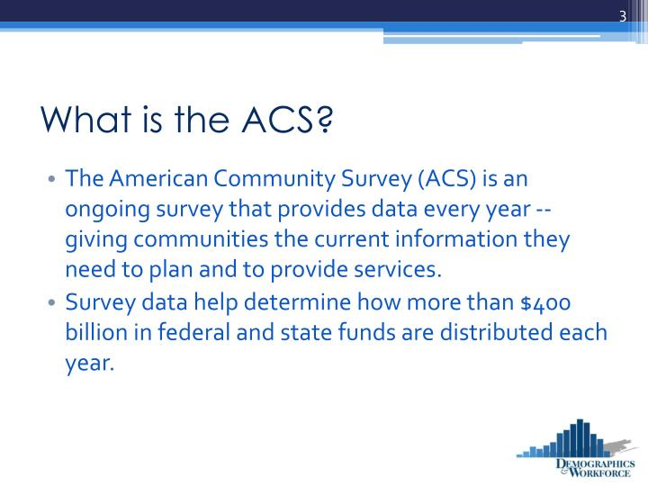 What is the acs