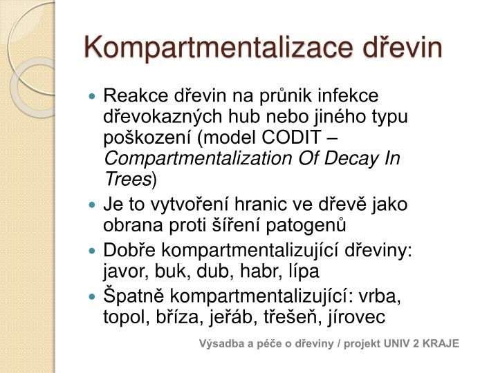 Kompartmentalizace