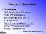contact information2