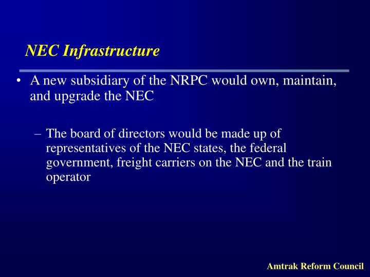 NEC Infrastructure