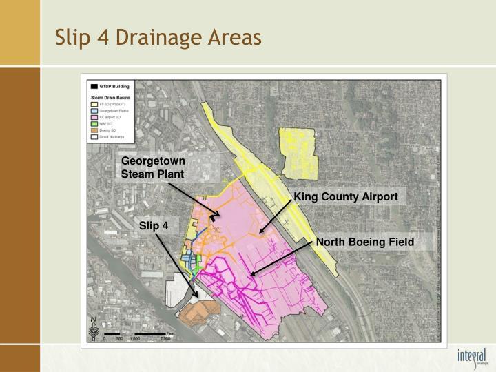 Slip 4 Drainage Areas