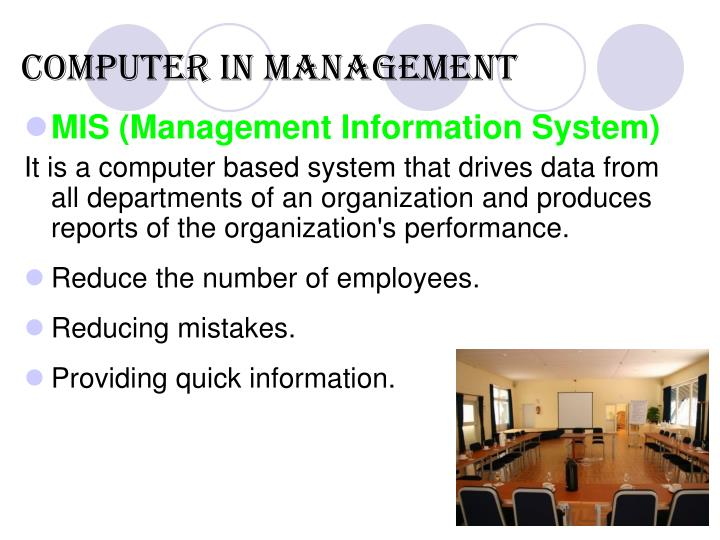mis management information system An information system (is) is an organized system for the collection, organization, storage and communication of informationmore specifically, it is the study of complementary networks that people and organizations use to collect, filter, process, create and distribute data.
