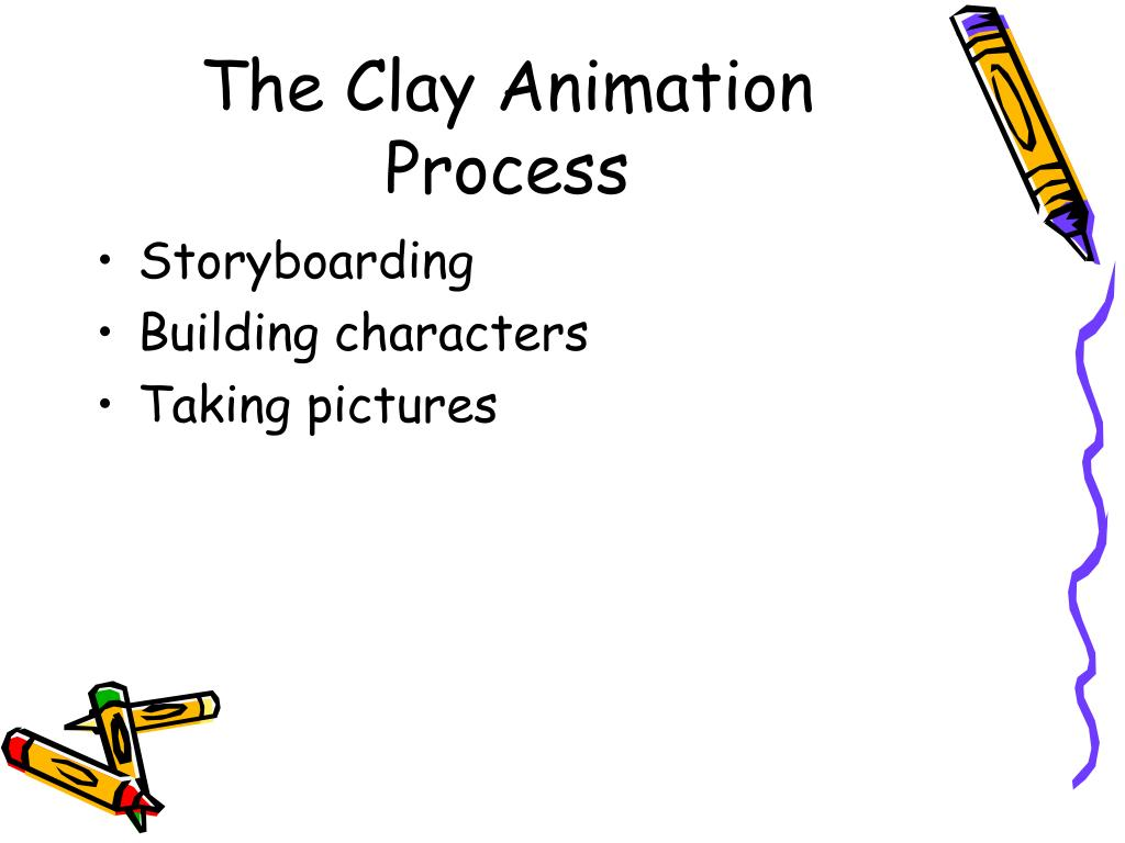 The Clay Animation Process