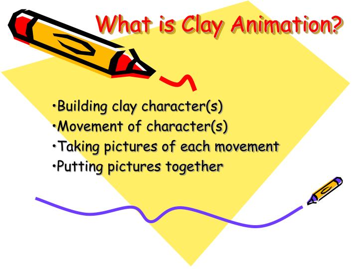 What is clay animation