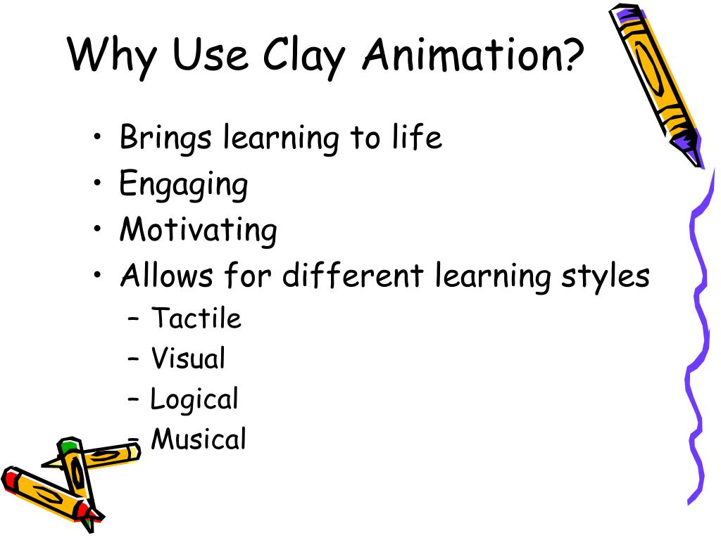 Why Use Clay Animation?