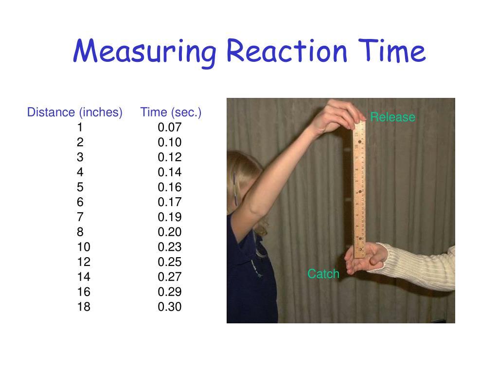 Measuring Reaction Time