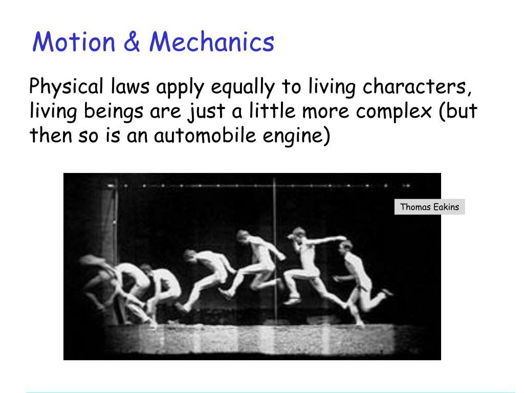 Motion & Mechanics