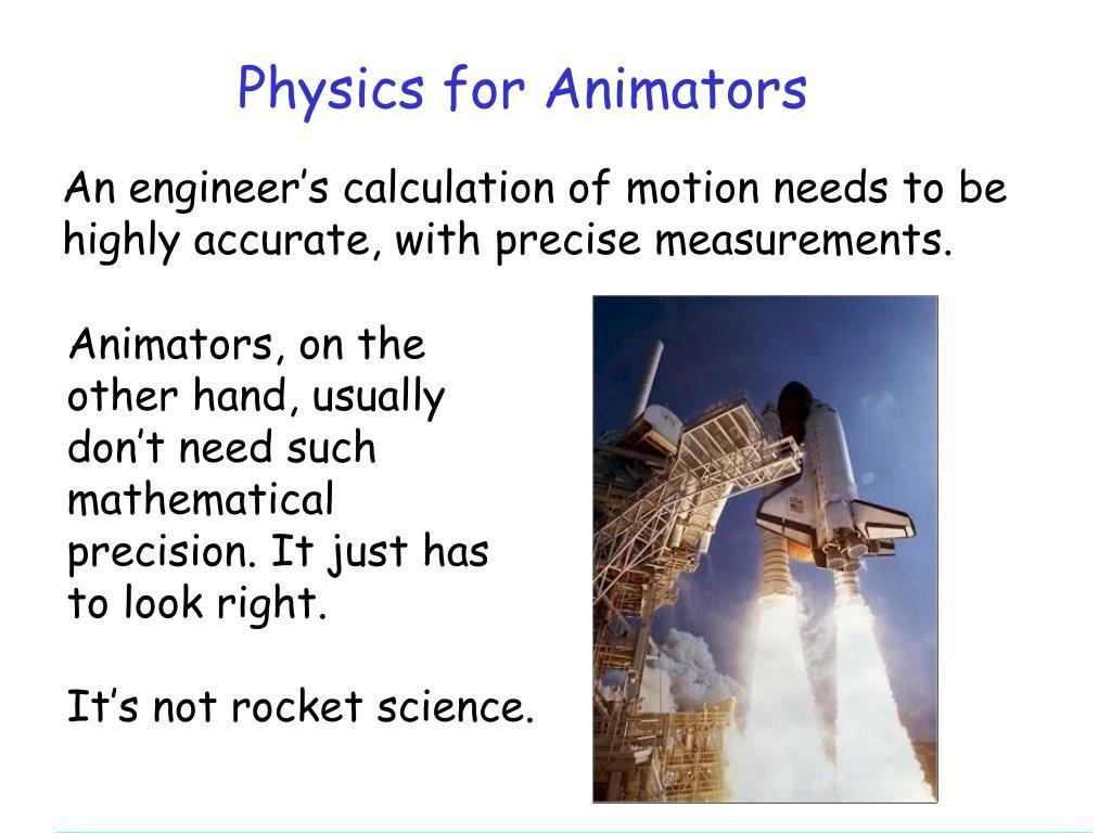 Physics for Animators