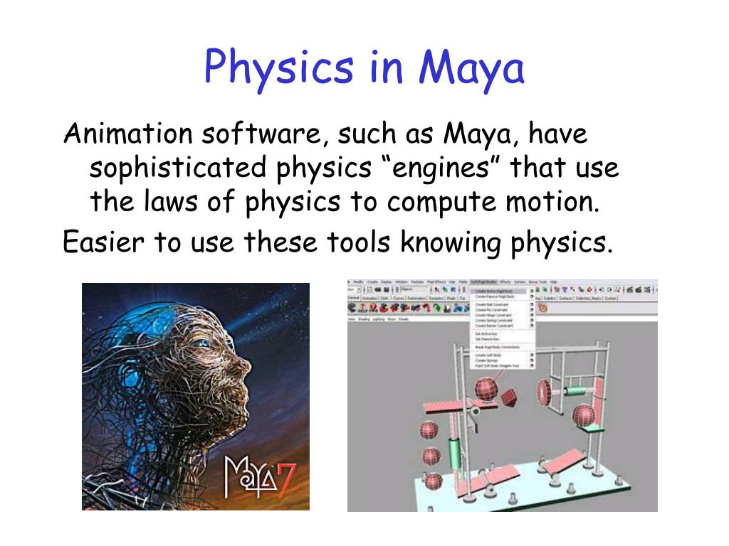Physics in Maya