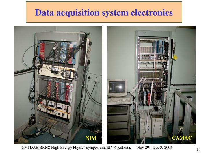 Data acquisition system electronics