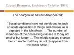 edward bernstein evolutionary socialism 18992