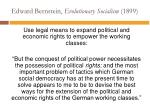 edward bernstein evolutionary socialism 18995