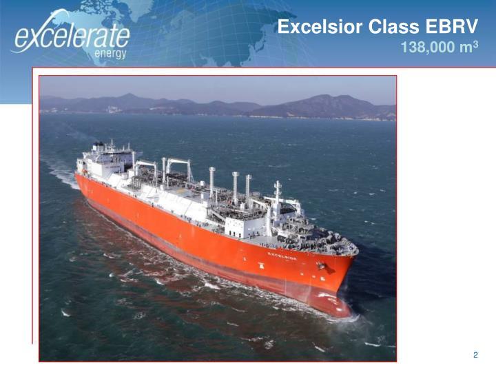 Excelsior class ebrv 138 000 m 3