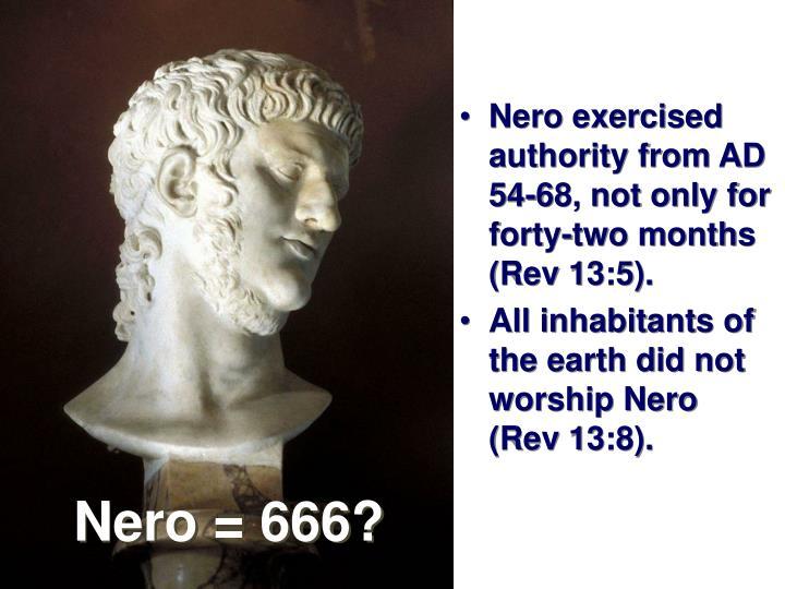 Nero = 666?