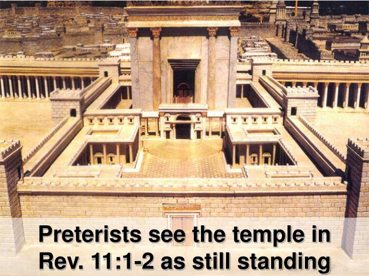 Preterists see the temple in