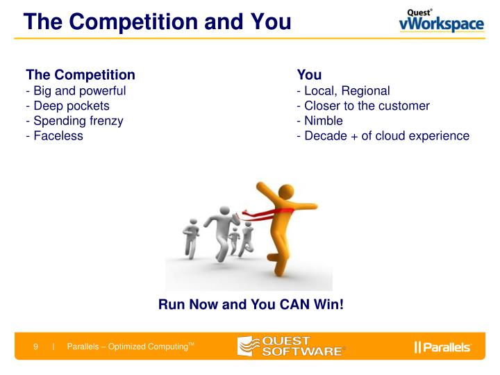 The Competition and You
