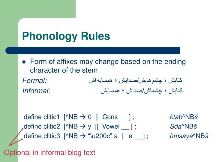 Optional in informal blog text