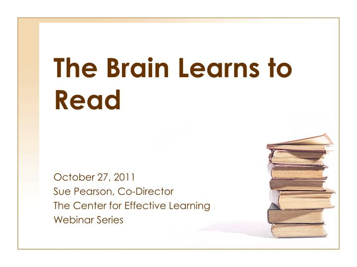 the brain learns to read n.