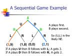 a sequential game example42