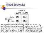 mixed strategies69