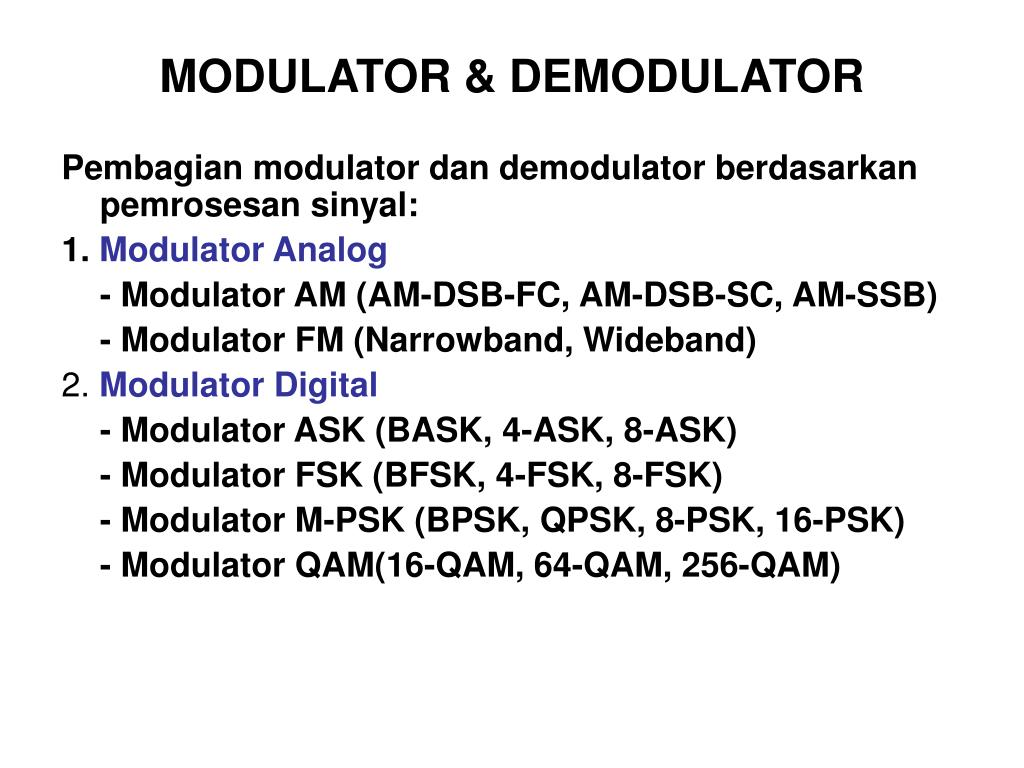 Psk modulation and demodulation ppt