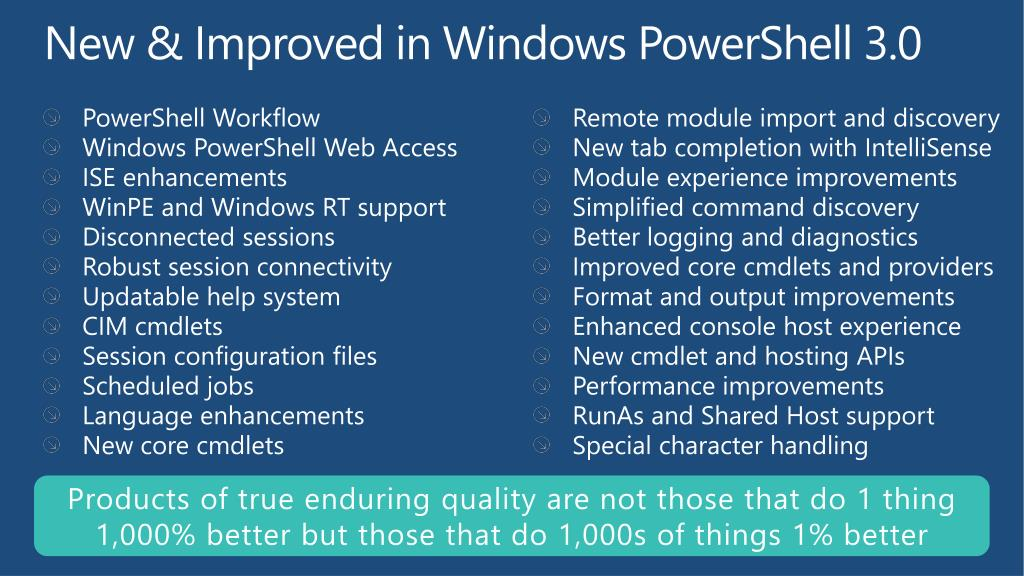 PPT - Advanced Automation Using Windows PowerShell 3 0