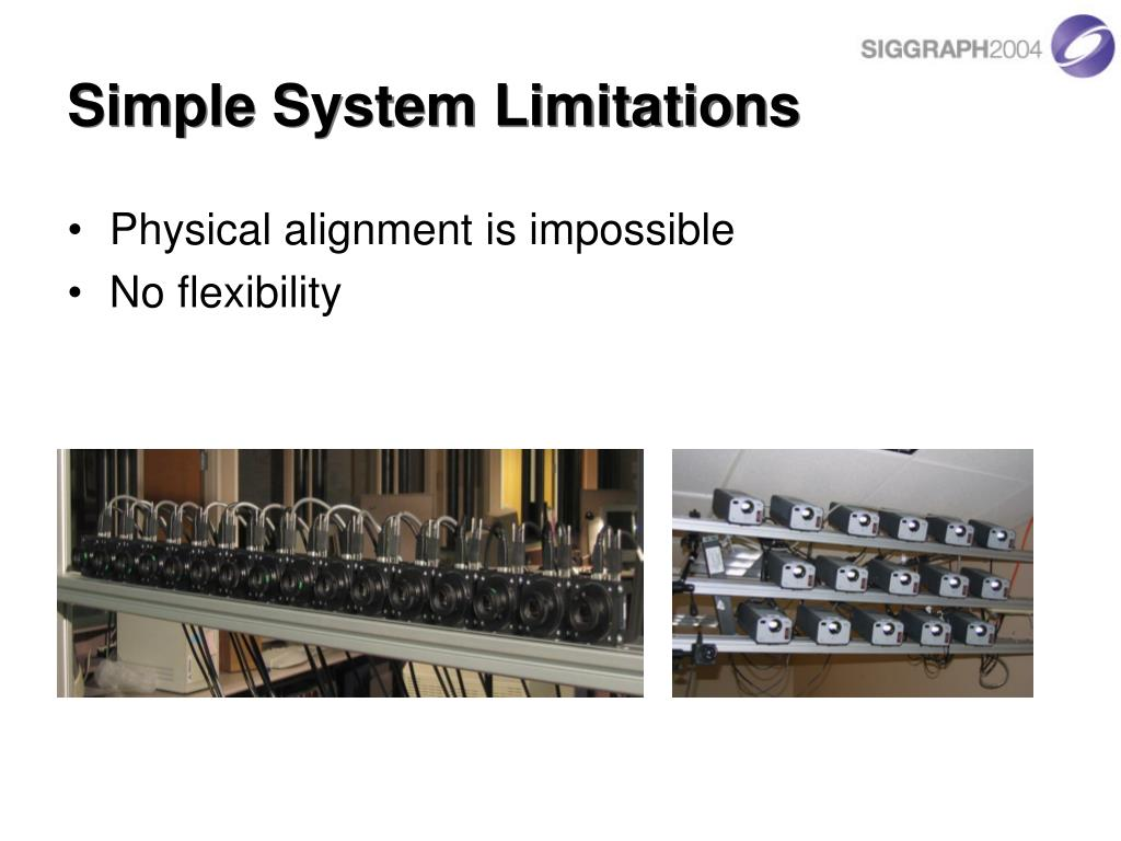 Simple System Limitations