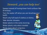 steward you can help too