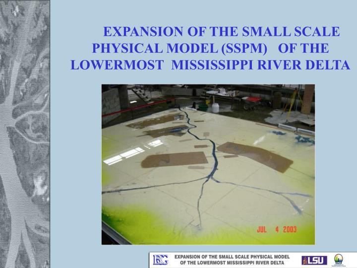EXPANSION OF THE SMALL