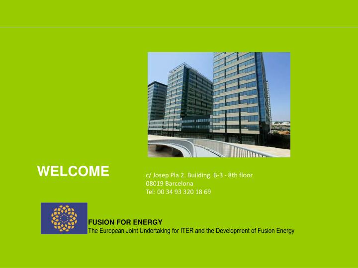 fusion for energy the european joint undertaking for iter and the development of fusion energy n.