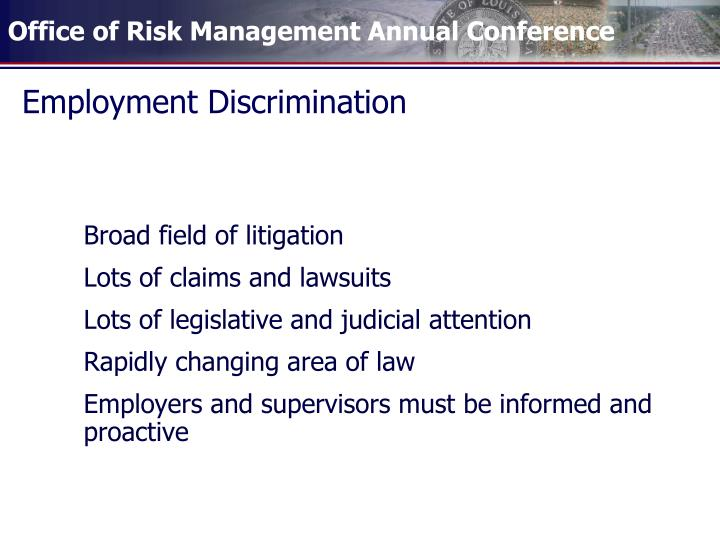 Employment discrimination1