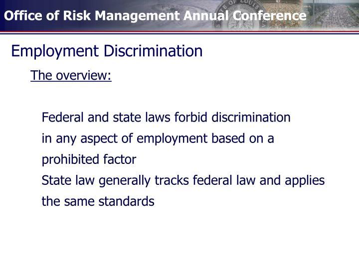 Employment discrimination2