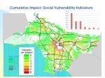 cumulative impact social vulnerability indicators
