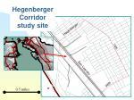hegenberger corridor study site