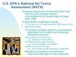 u s epa s national air toxics assessment nata