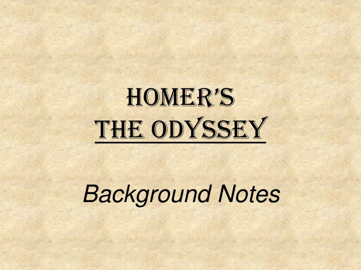 an analysis of the use of many literary devices in homers odyssey Online literary criticism an examination of these two female characters in the odyssey contains: character analysis use these links to search for the.