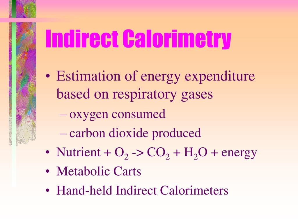 Indirect Calorimetry