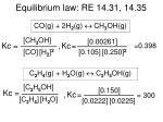 equilibrium law re 14 31 14 35