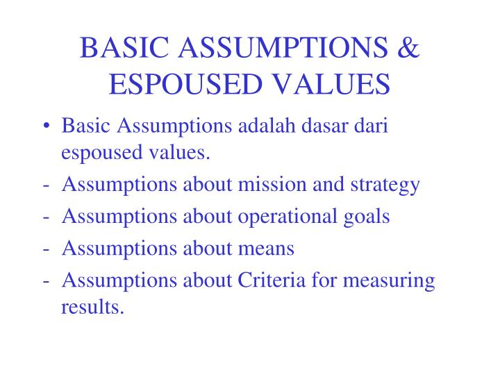 basic assumption for thesis Writing an effective thesis statement a thesis statement helps unify a paper it should summarize the main point and guide the paper's development a thesis statement can be expressed in a sentence or two however, check with your instructor for particular requirements.