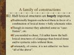 a family of constructions18