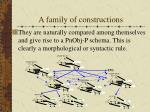 a family of constructions9